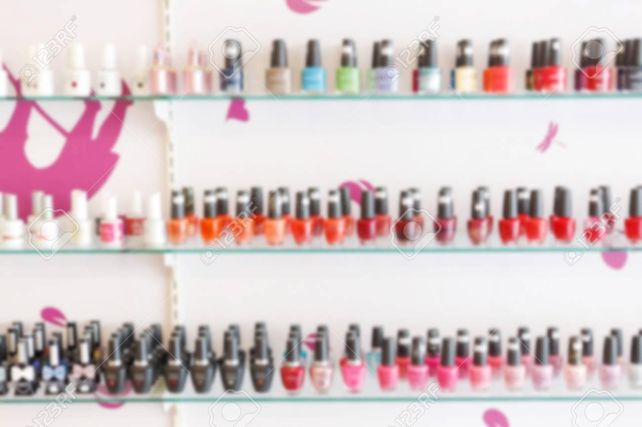 Fashion Colorful Manicure Nail Polish Bottle Collection Set On ...