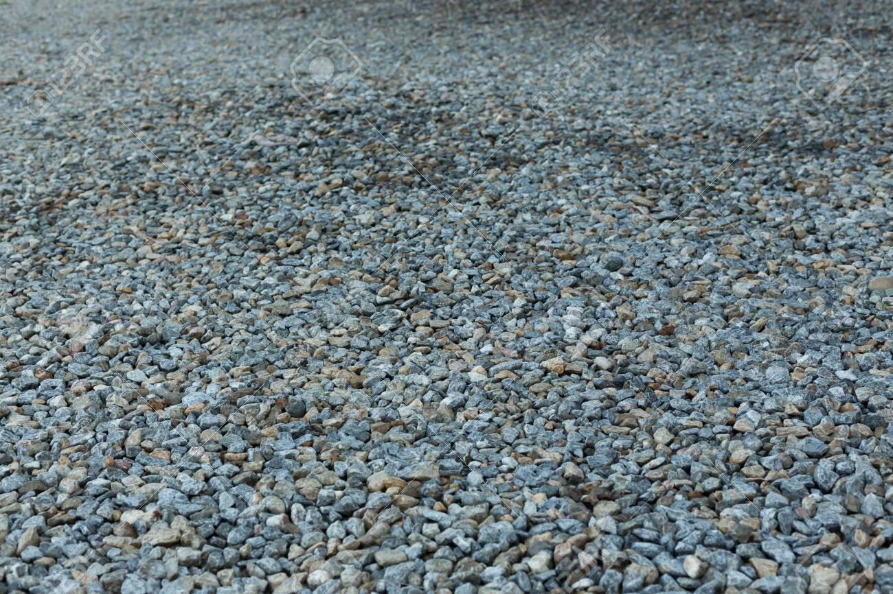 gravel of dirt road - 121838444