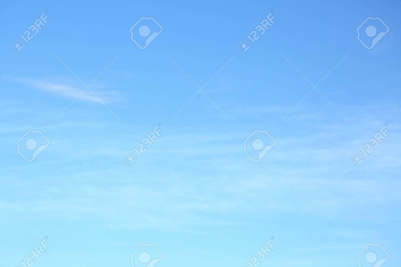 air on blue sky, clear weather day background - 145002941
