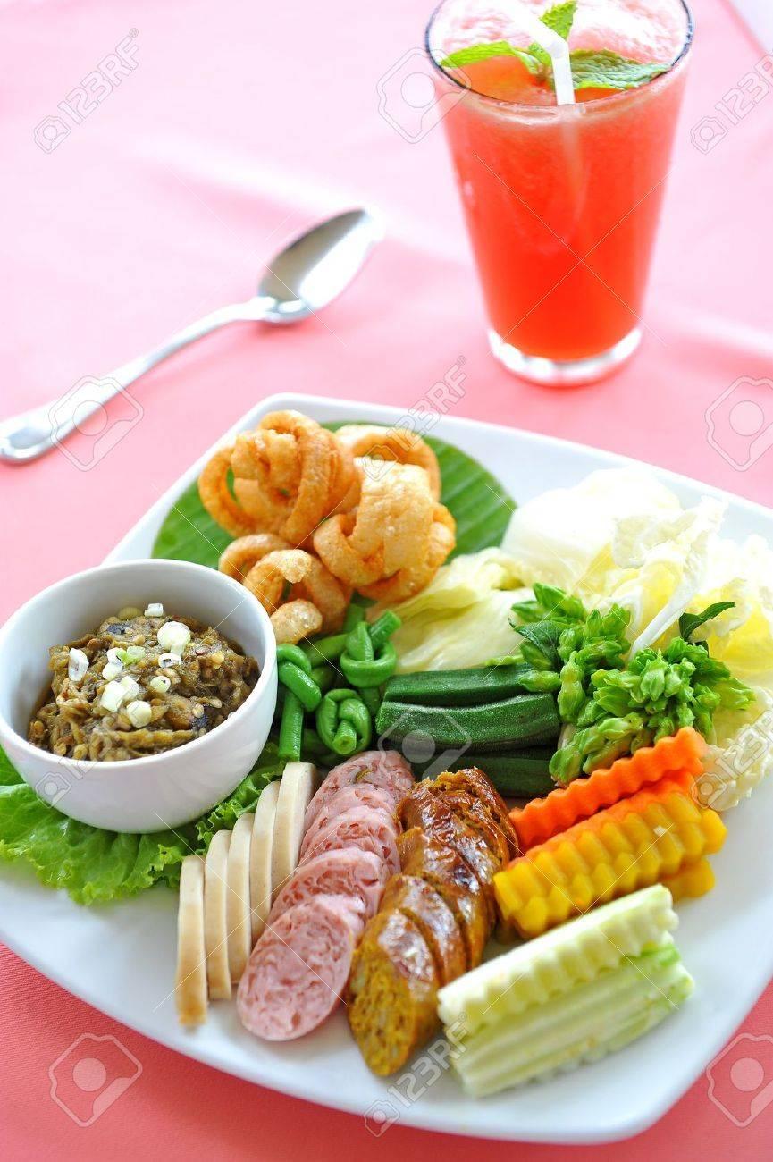 spicy thaifood Stock Photo - 9542698