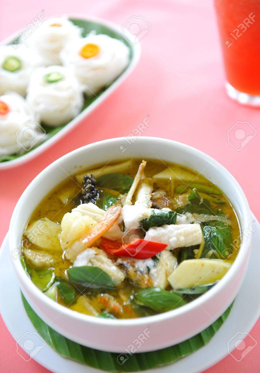 green curry - thai cuisine Stock Photo - 9647210