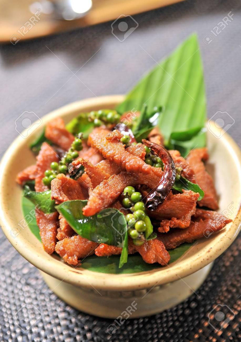 Fried pork Stock Photo - 10344954