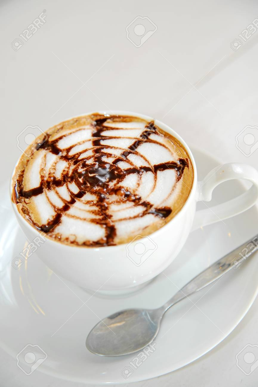 hot coffee Stock Photo - 12240815