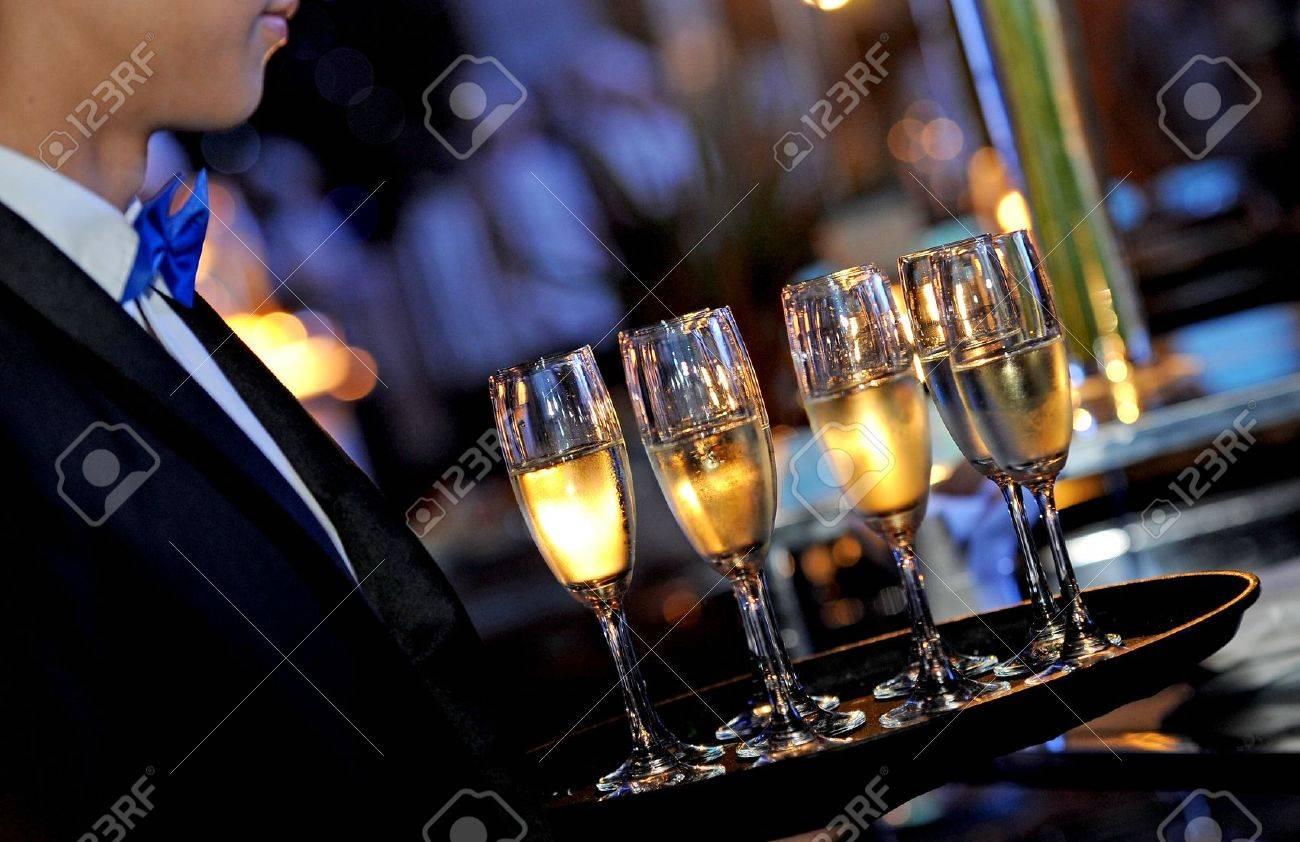 serving wine Stock Photo - 14290071