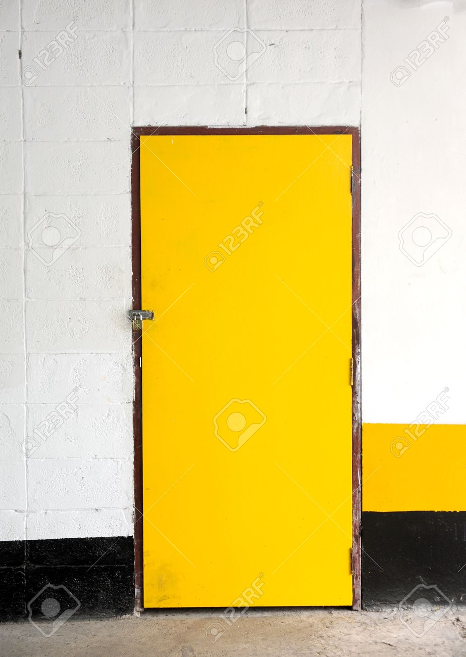 Stock Photo - Yellow door & Yellow Door Stock Photo Picture And Royalty Free Image. Image 14404361.