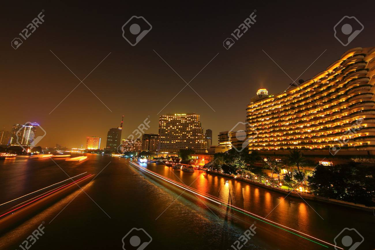 Choapraya river Stock Photo - 18951040