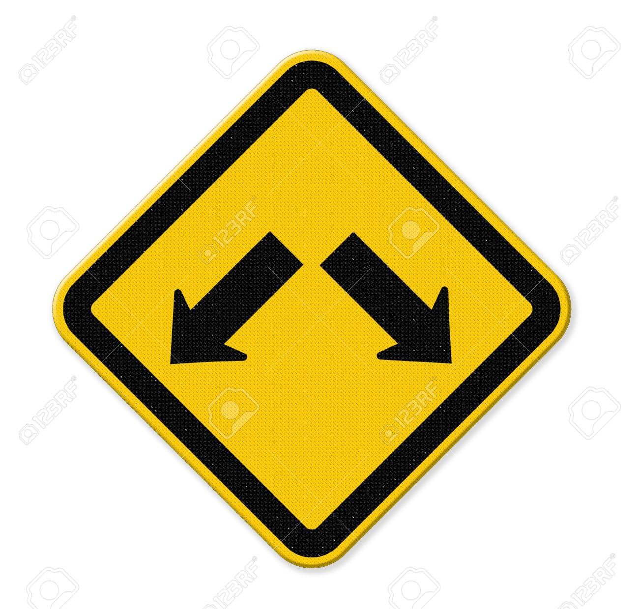 arrows in road sign stock photo picture and royalty free image
