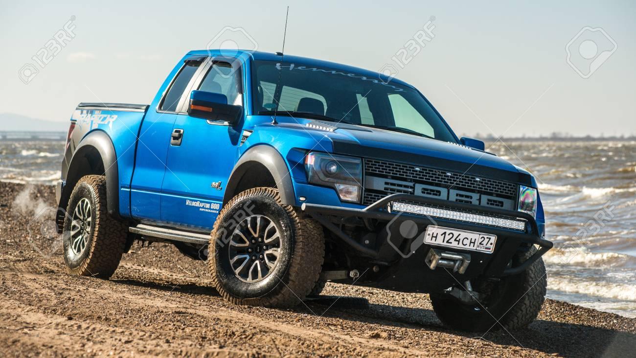 Khabarovsk Russia October 20 2016 Ford F150 Raptor Suv Is