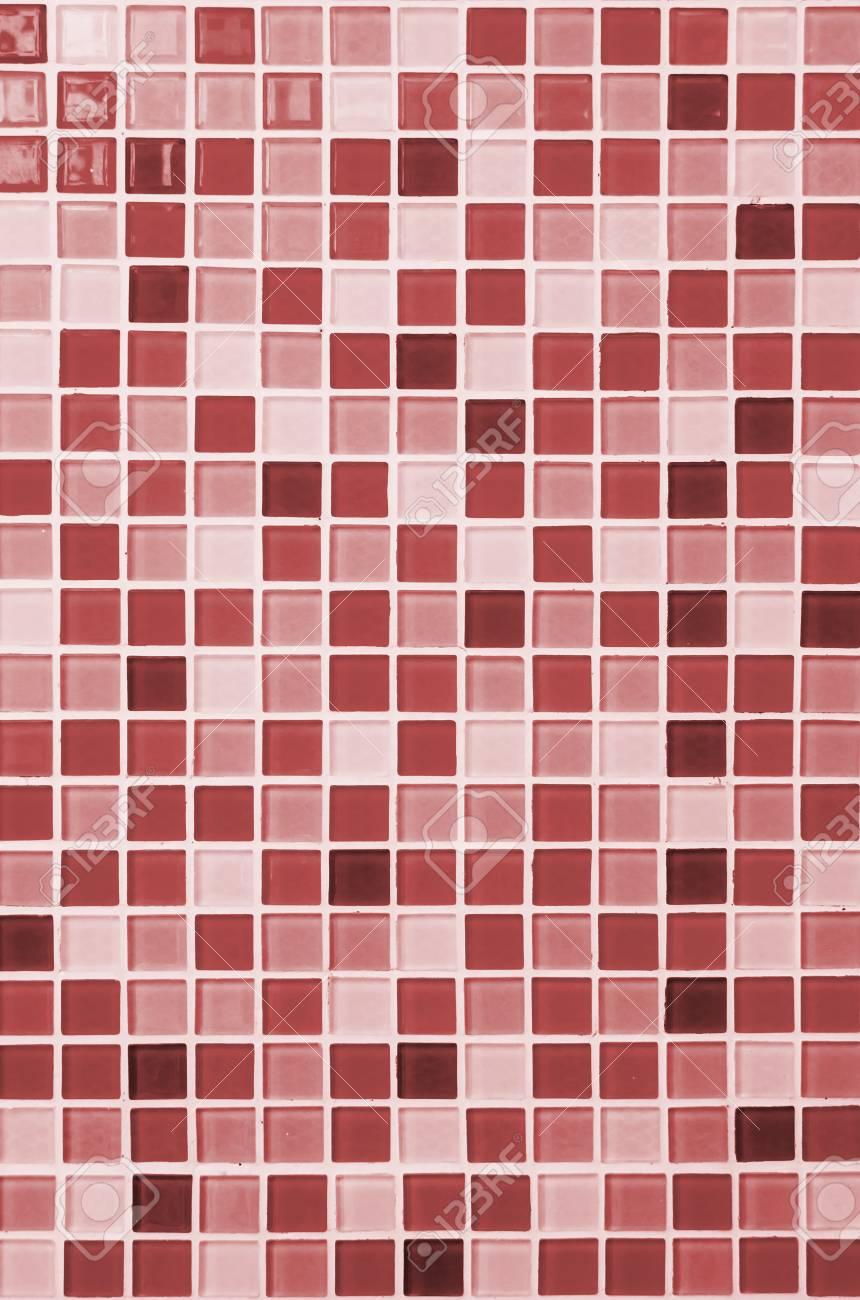 carreaux de fond mosaïque de couleur pour salle de bains banque d