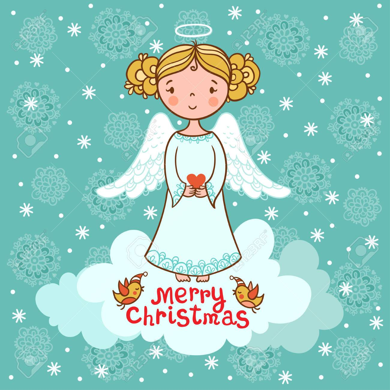 Christmas vector illustration on the theme of the new year. - 46448927
