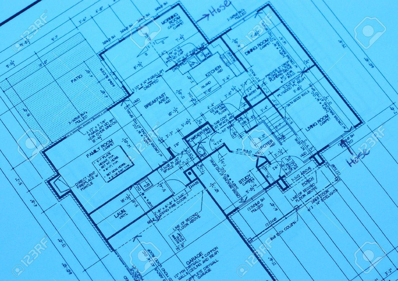 Blueprint of a new housing project in a new development stock photo blueprint of a new housing project in a new development stock photo 652323 malvernweather Image collections