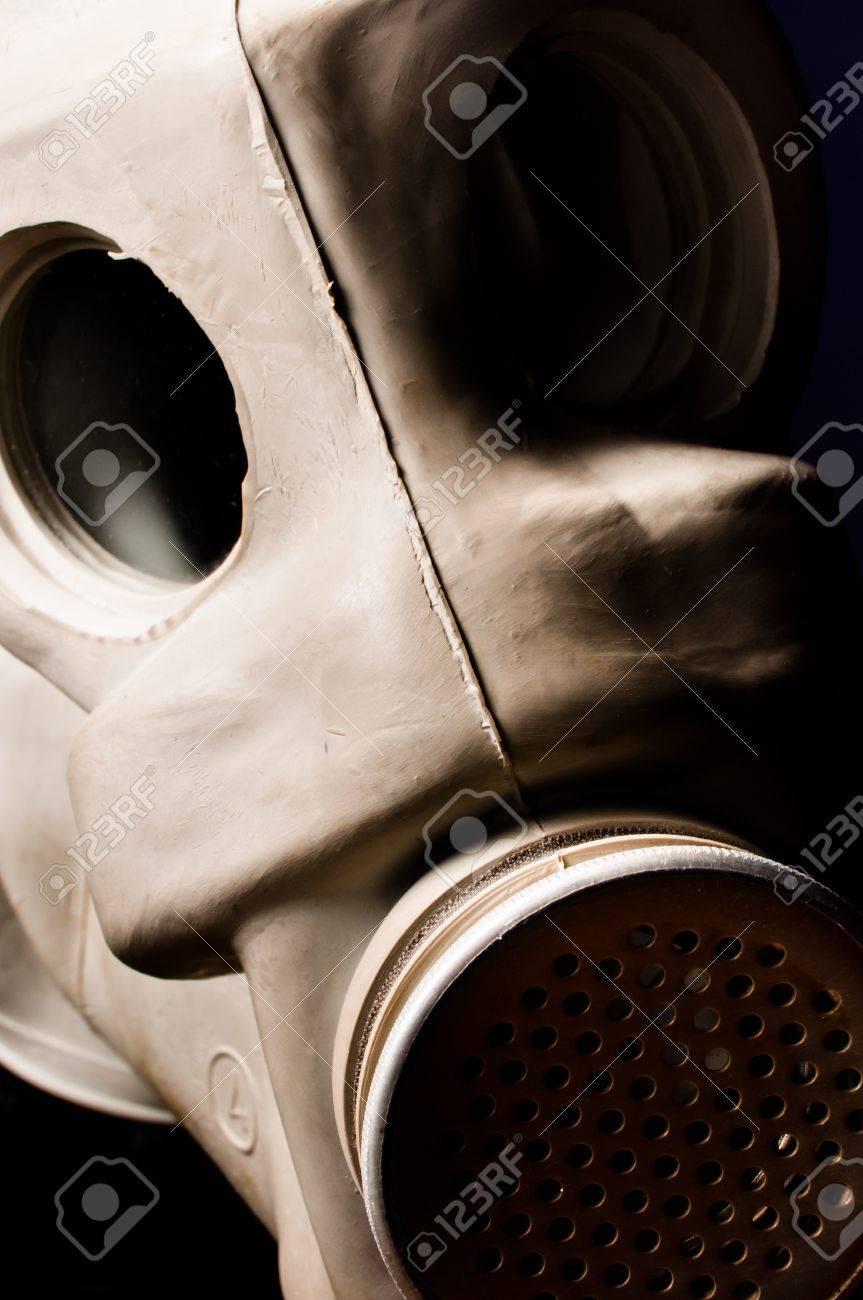 Old gasmask closeup Stock Photo - 9485635
