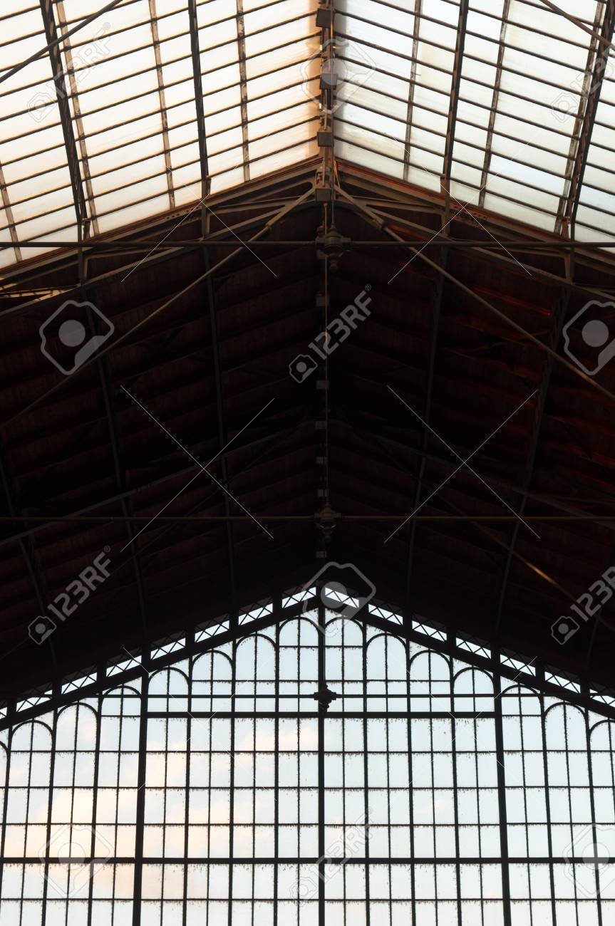 abstract background of an old industrial building Stock Photo - 11508049