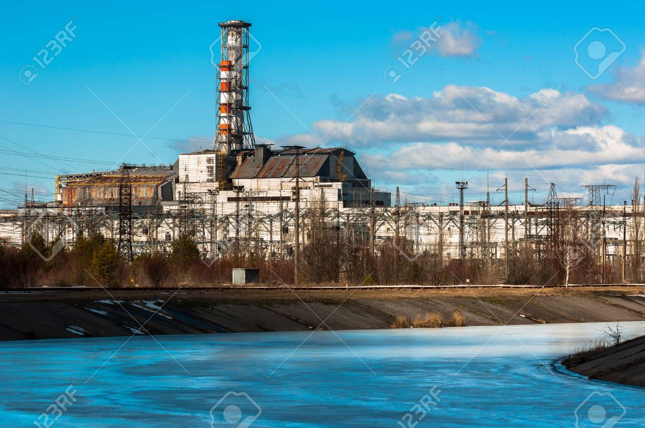 The Chernobyl Nuclear Pwer Plant, 2012 March 14 Stock Photo - 13610905