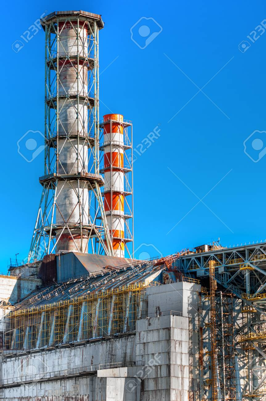 The Chernobyl Nuclear Power Plant 2012 Stock Photo - 13611064