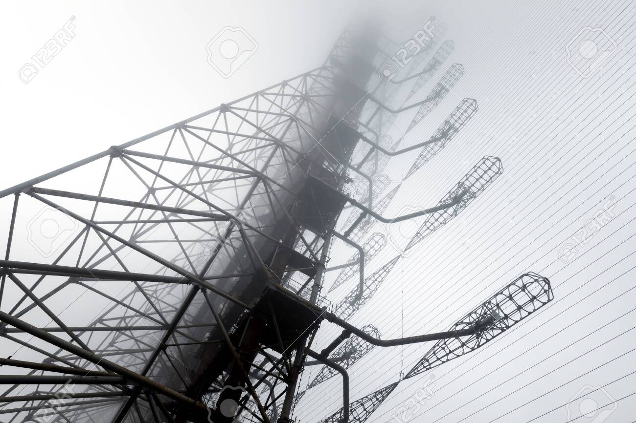 Duga Antenna Complex in Chernobyl Exclusion zone - 128704168