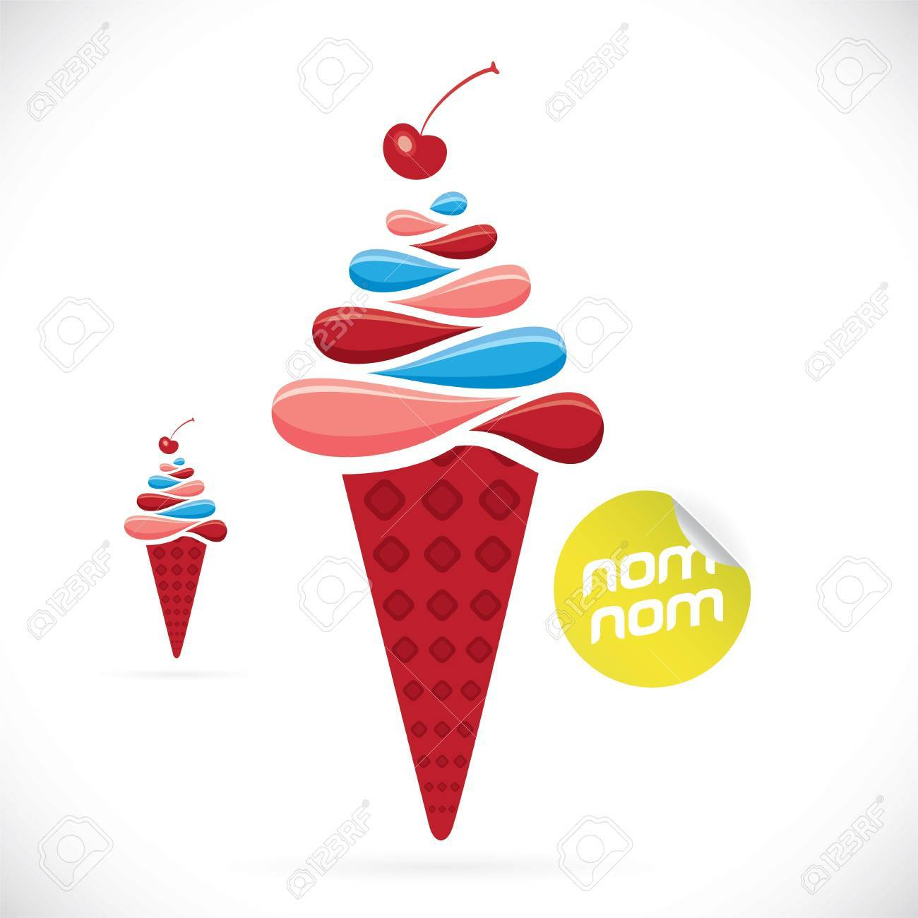 Ice Cream Illustration Royalty Free Cliparts, Vectors, And Stock ...