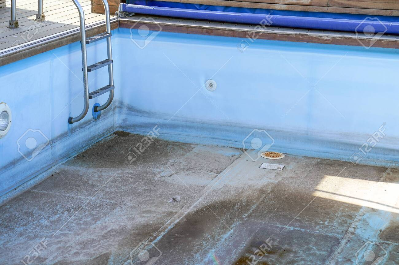 A Dirty Abandoned Swimming Pool Without Water Old Swimming Stock Photo Picture And Royalty Free Image Image 133140947