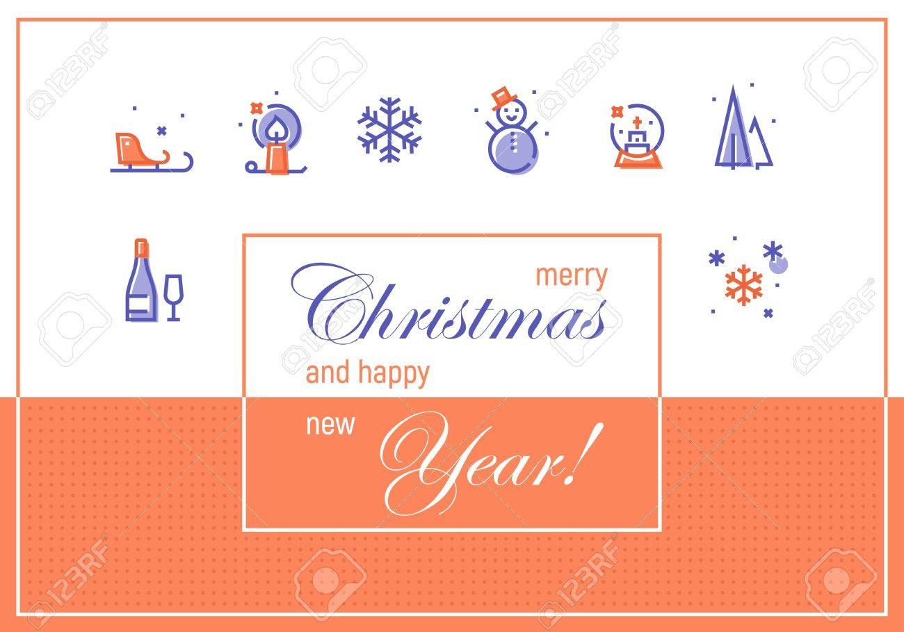 Vector greeting design concept for email newsletter and formal vector greeting design concept for email newsletter and formal corporate greeting new year 2017 kristyandbryce Images