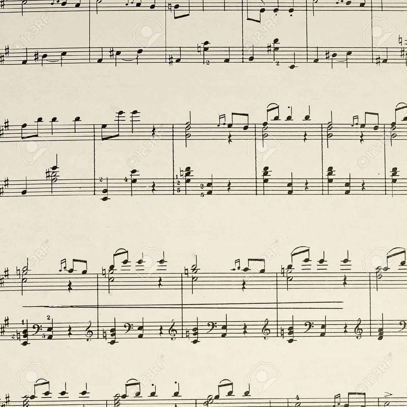 La Página De La Hoja De Música - La Composición De Beethoven Fotos ...