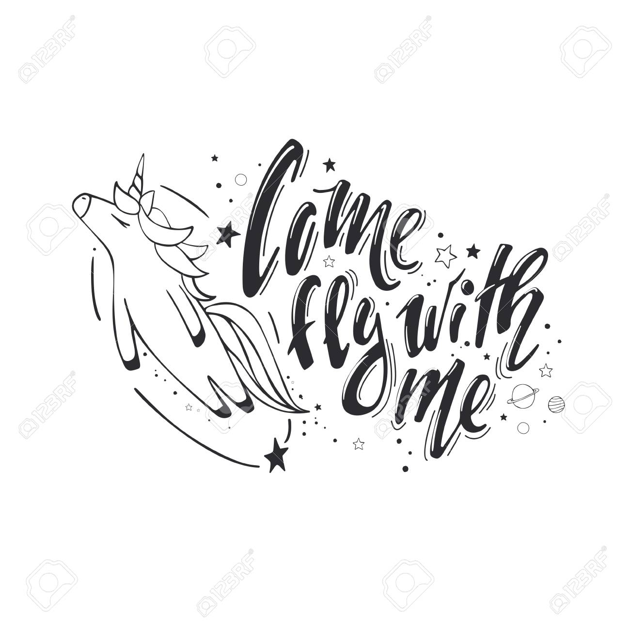 Come Fly With Me Believe In Miracles Vector Magic Inspirational