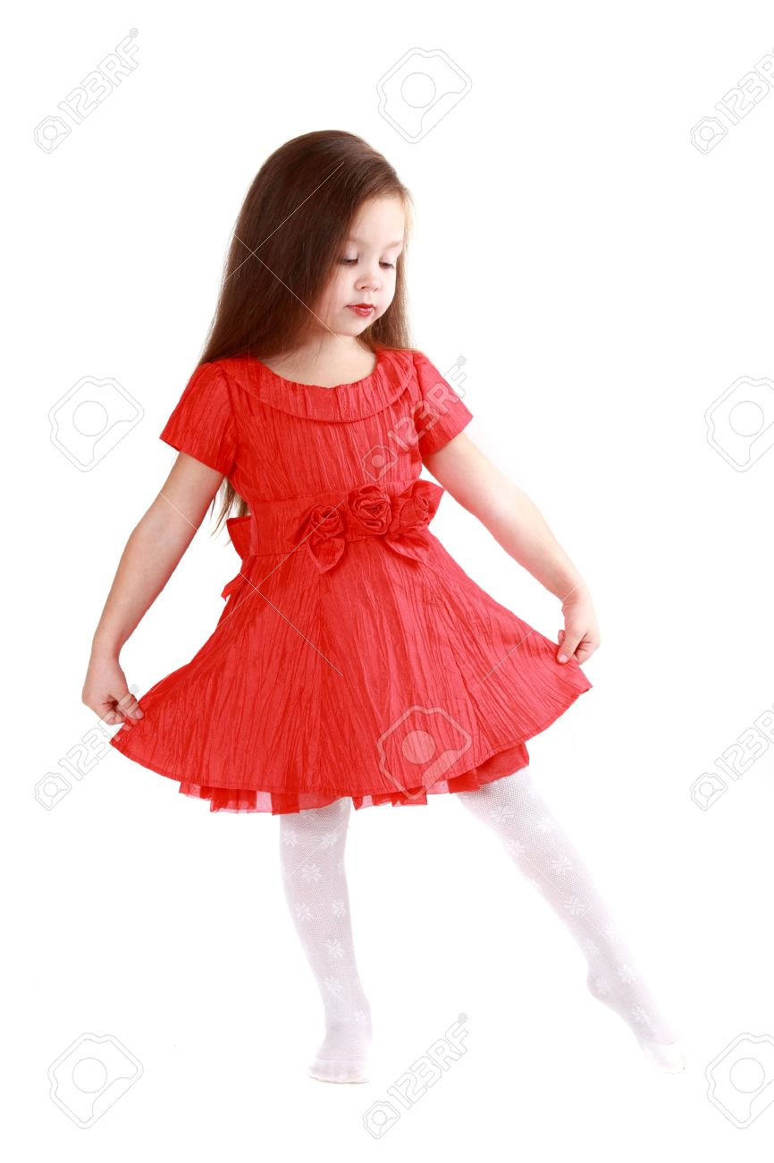 Red Girls Dresses