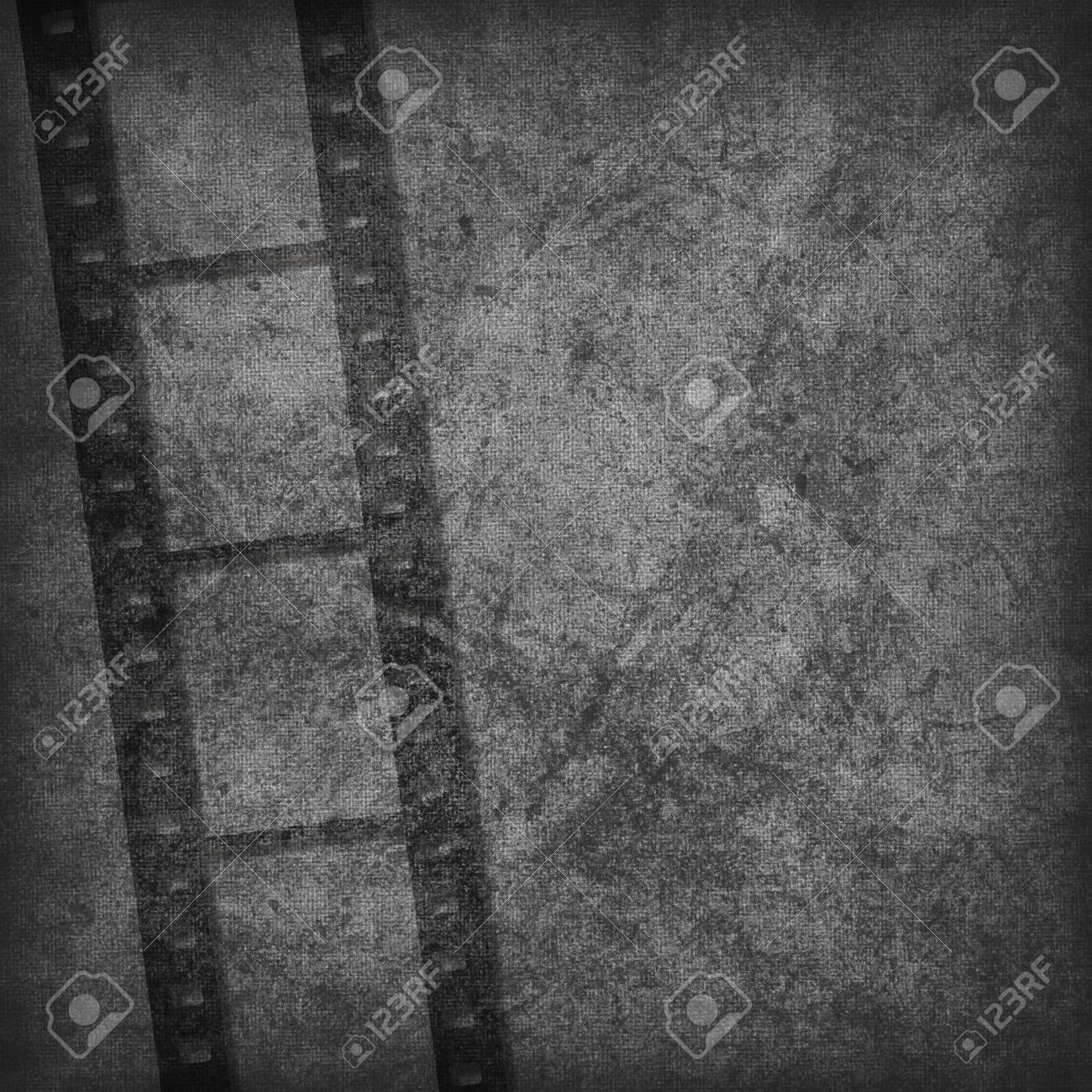 Grunge graphic abstract background with film Stock Photo - 8452321