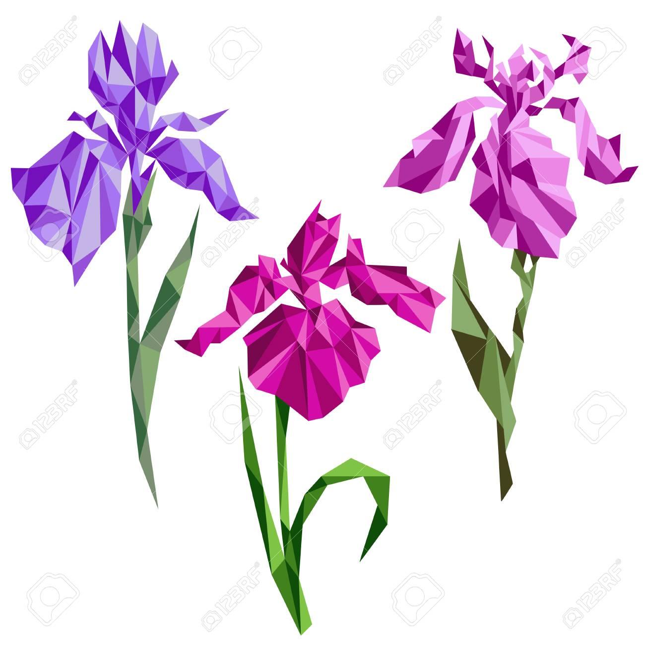 origami iris 2   Papiroflexia flores, Origami flores, Rosas origami   1300x1300