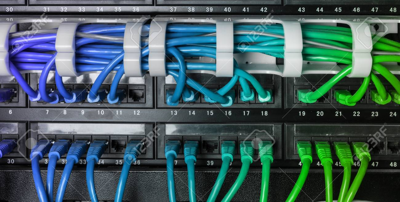 A Network Rack Patch Panel Wiring - Find Wiring Diagram •