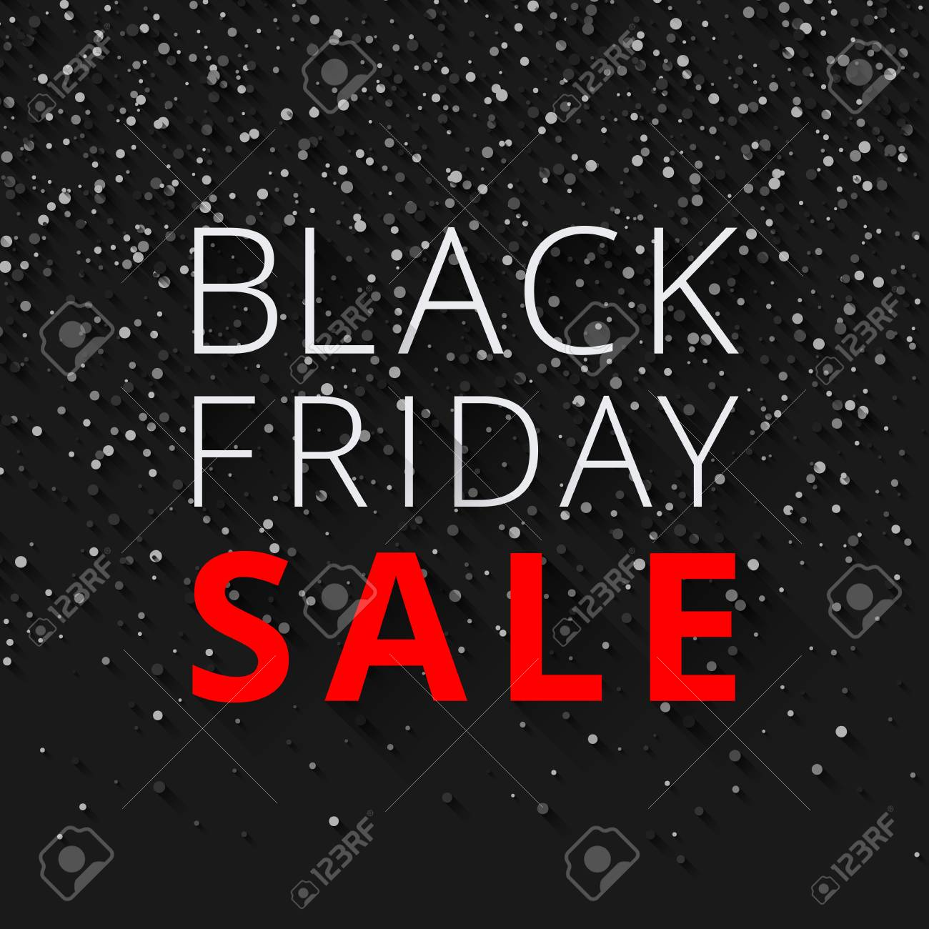 black friday sale background promotion or advertising poster