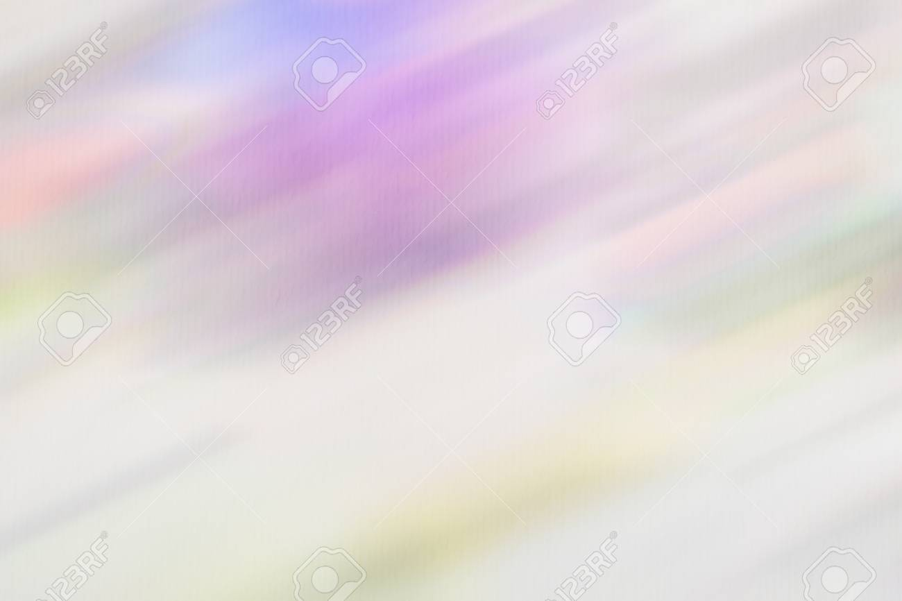 Abstract background, watercolor paper grain texture  Tender shades