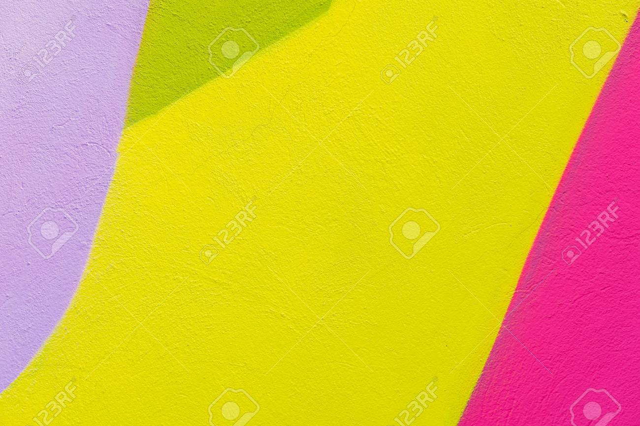 Colorful Abstract Textured Background. Street Art, Plastered.. Stock ...