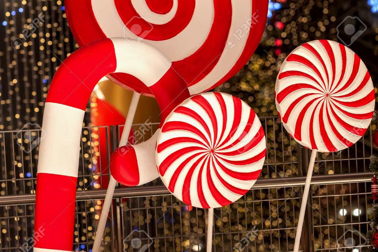 30 Pezzi Ornamento Lecca-Lecca Natale Lecca-Lecca Bianco Rosso Decorazioni Natalizie Ornamenti in Legno Appesso allAlbero di Natale con Corda per Casa Festa di Natale DIY Decorazione Artigianale