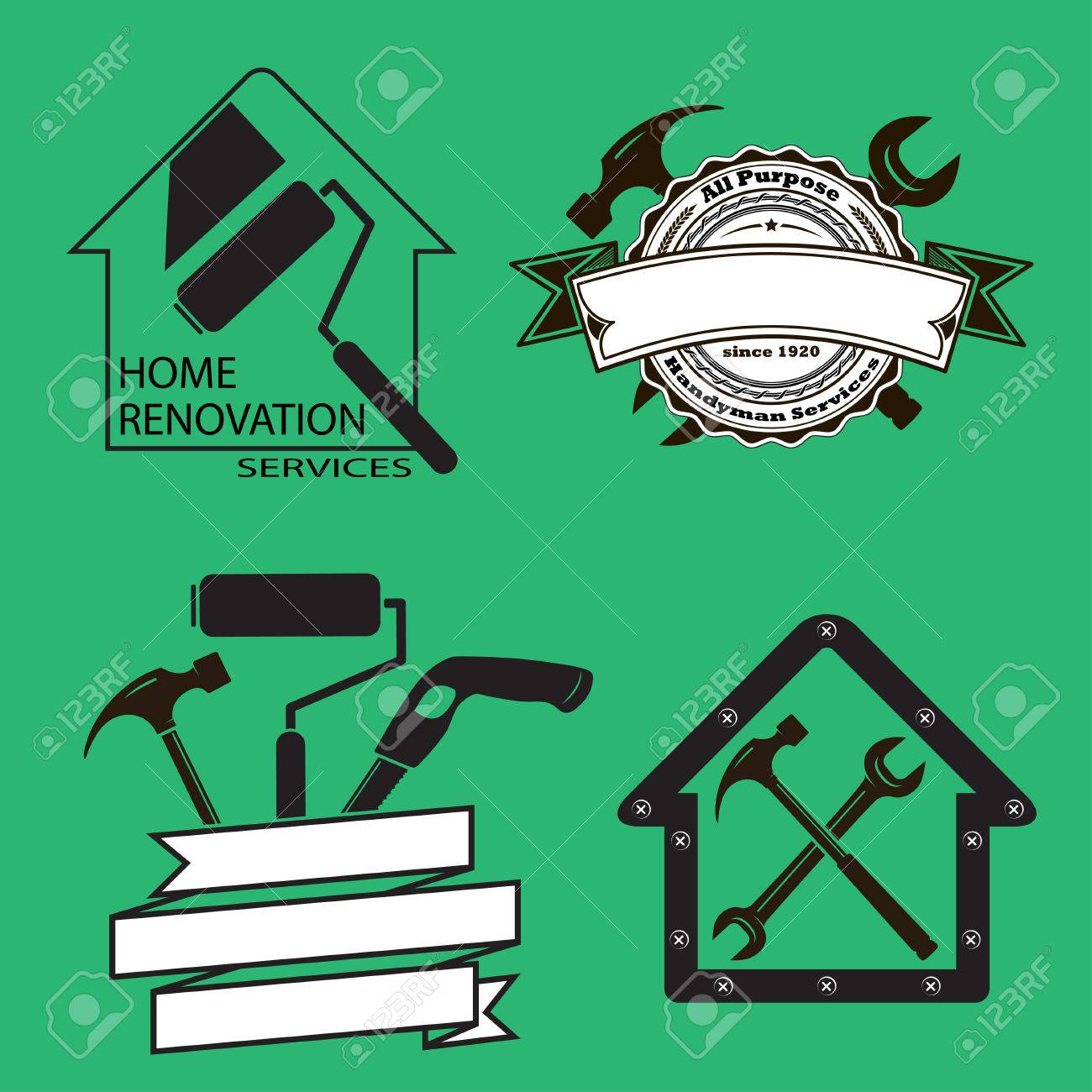Black And White Cartoon Illustration Of Worker With Level Or.. Royalty Free  Cliparts, Vectors, And Stock Illustration. Image 25510138.