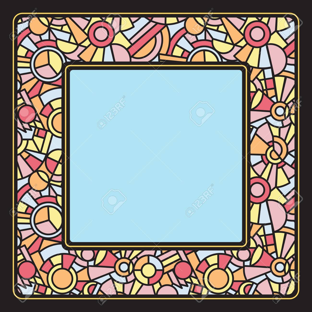 Stained Glass Frames Oval Or Oblong Picture Frames Made For Stained