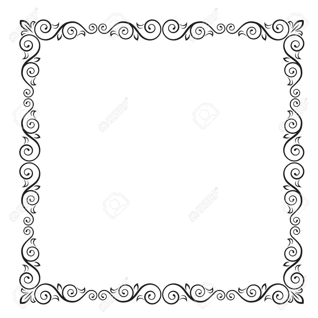 Vistoso Pr Marco Negro Ornamento - Ideas Personalizadas de Marco de ...