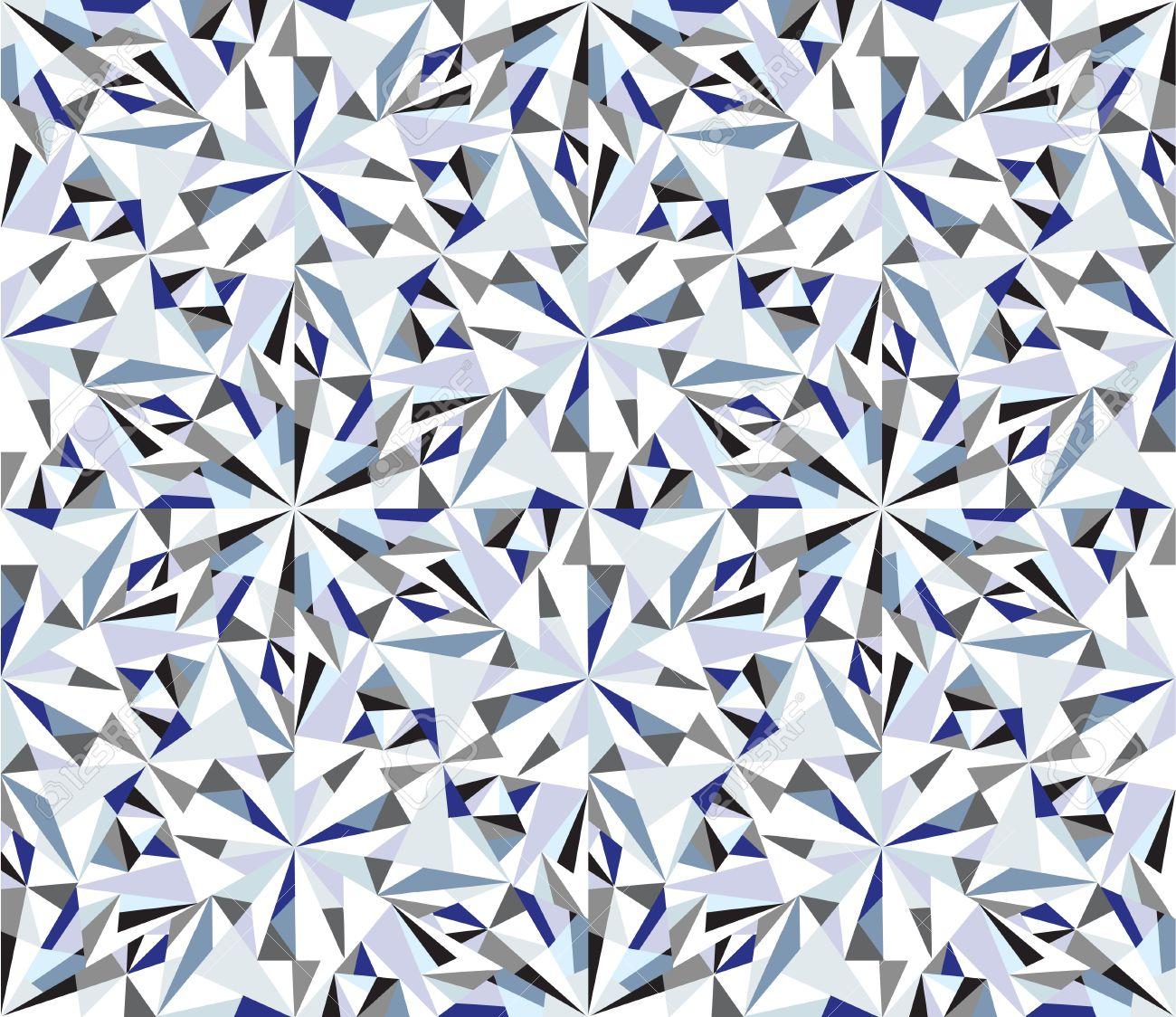 Diamond background  Seamless brilliant pattern Stock Vector - 15307016