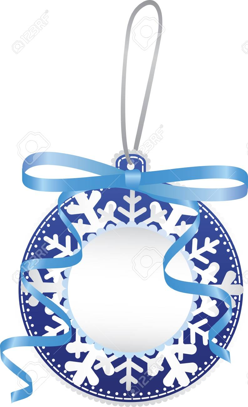 Christmas paper bauble Stock Vector - 16478028