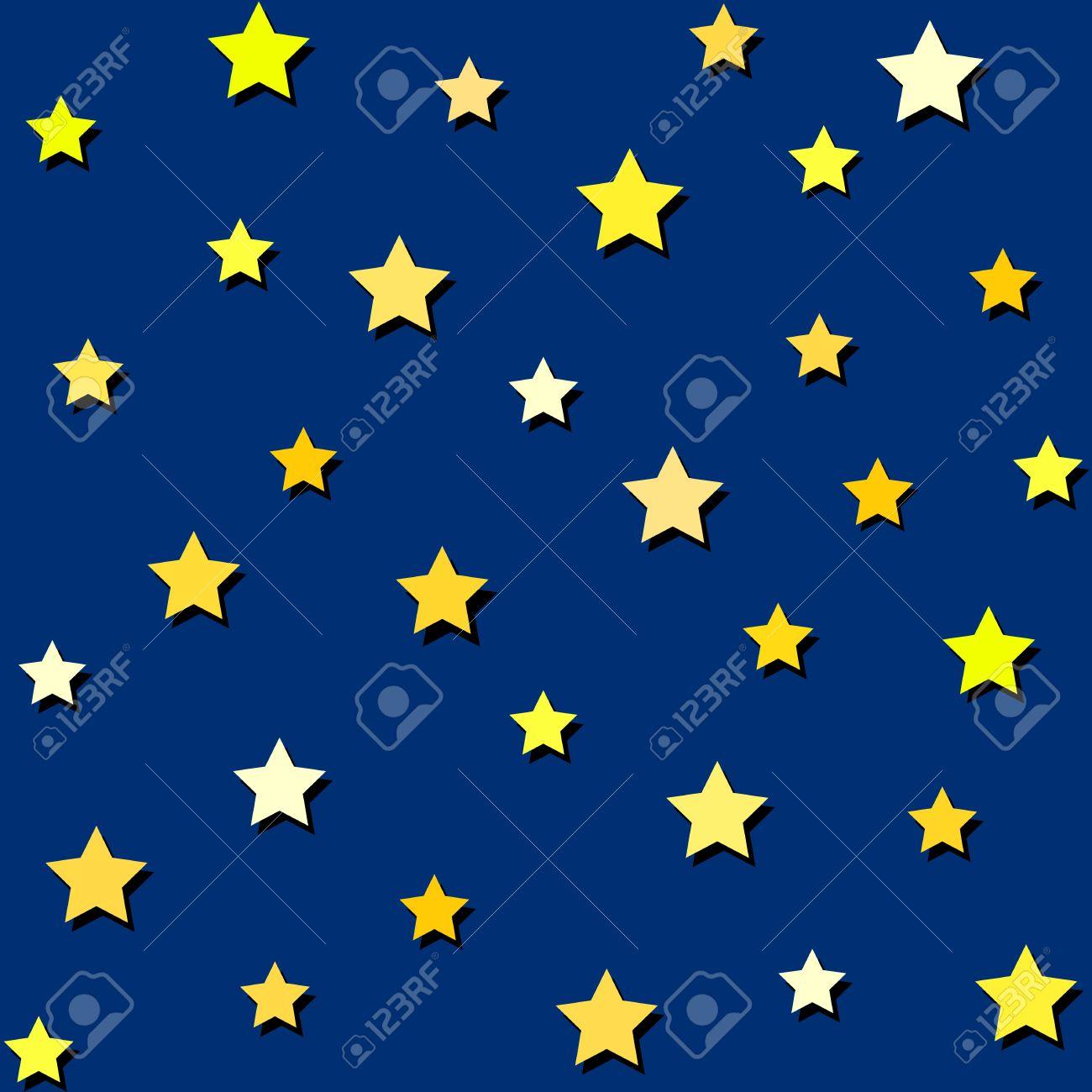 night sky and yellow stars seamless background royalty free rh 123rf com starry night sky vector star night sky vector