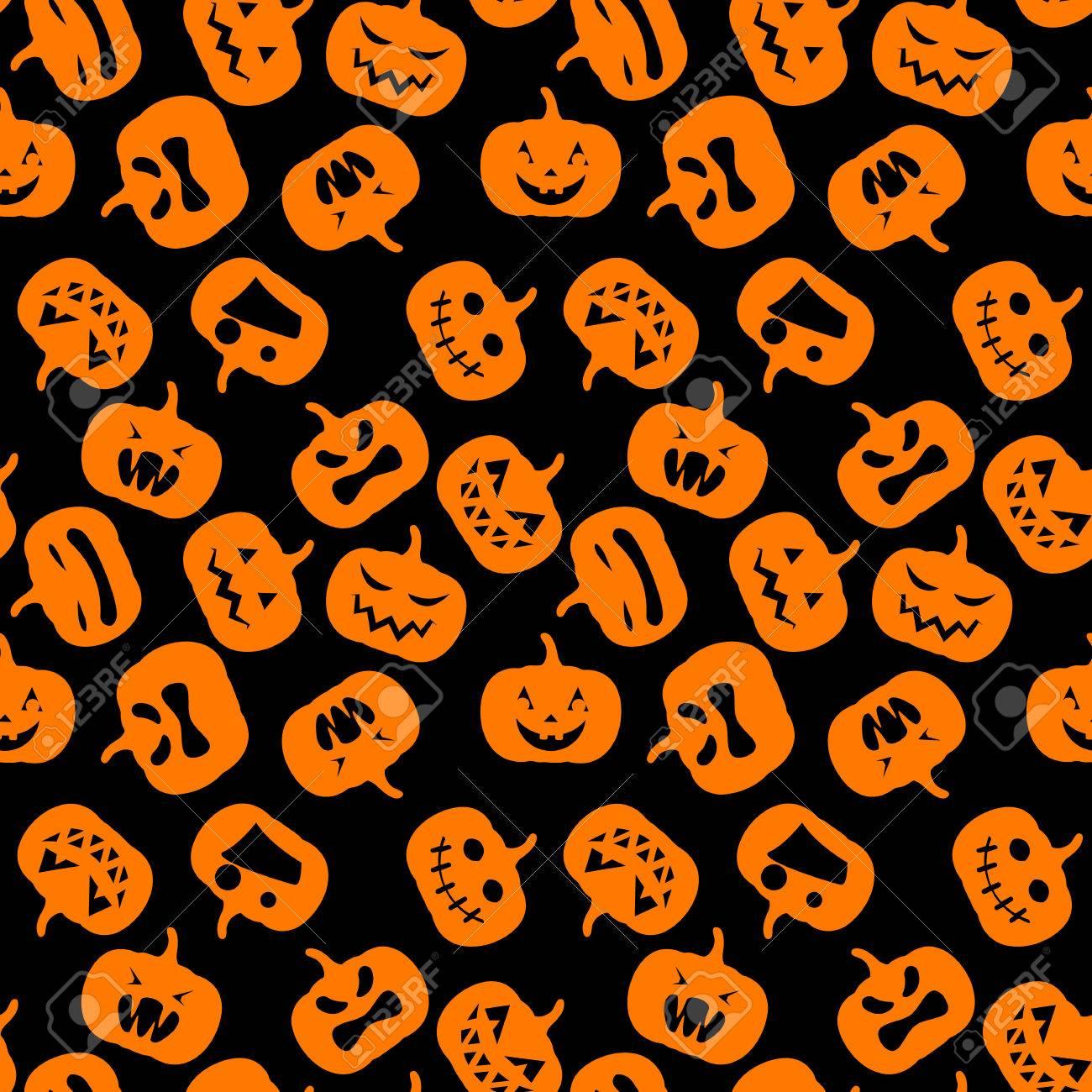 Nettes Halloween Muster Vektor Abbildung