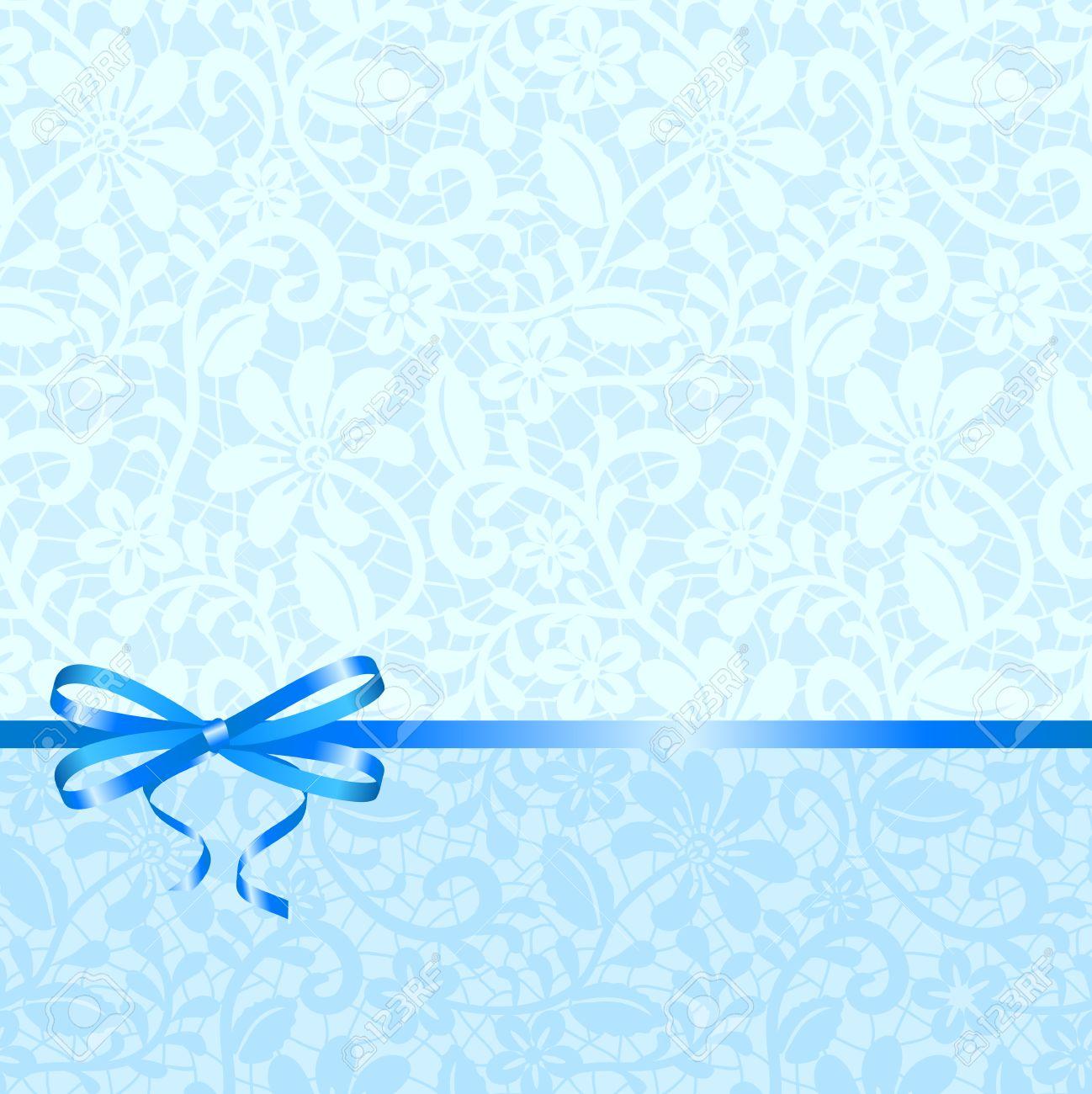 Свадебный голубой фон