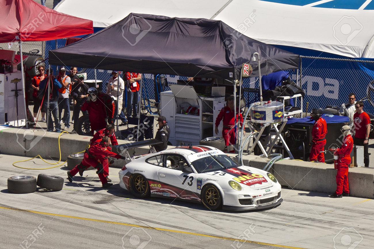 Grand AM Rolex Races, Mazda Raceway Laguna Seca, September 9, 2012 Stock Photo - 15744930