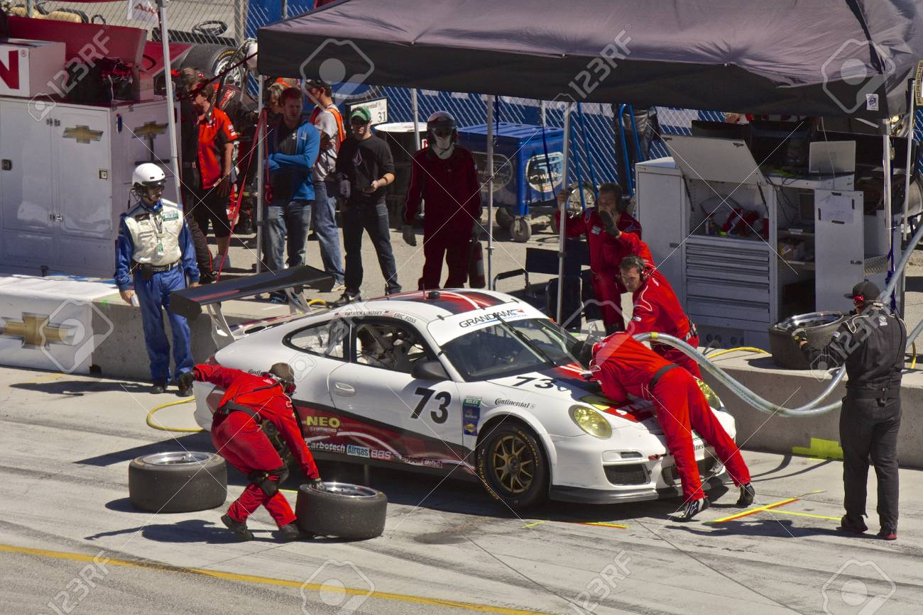 Grand AM Rolex Races, Mazda Raceway Laguna Seca, September 9, 2012 Stock Photo - 15744941