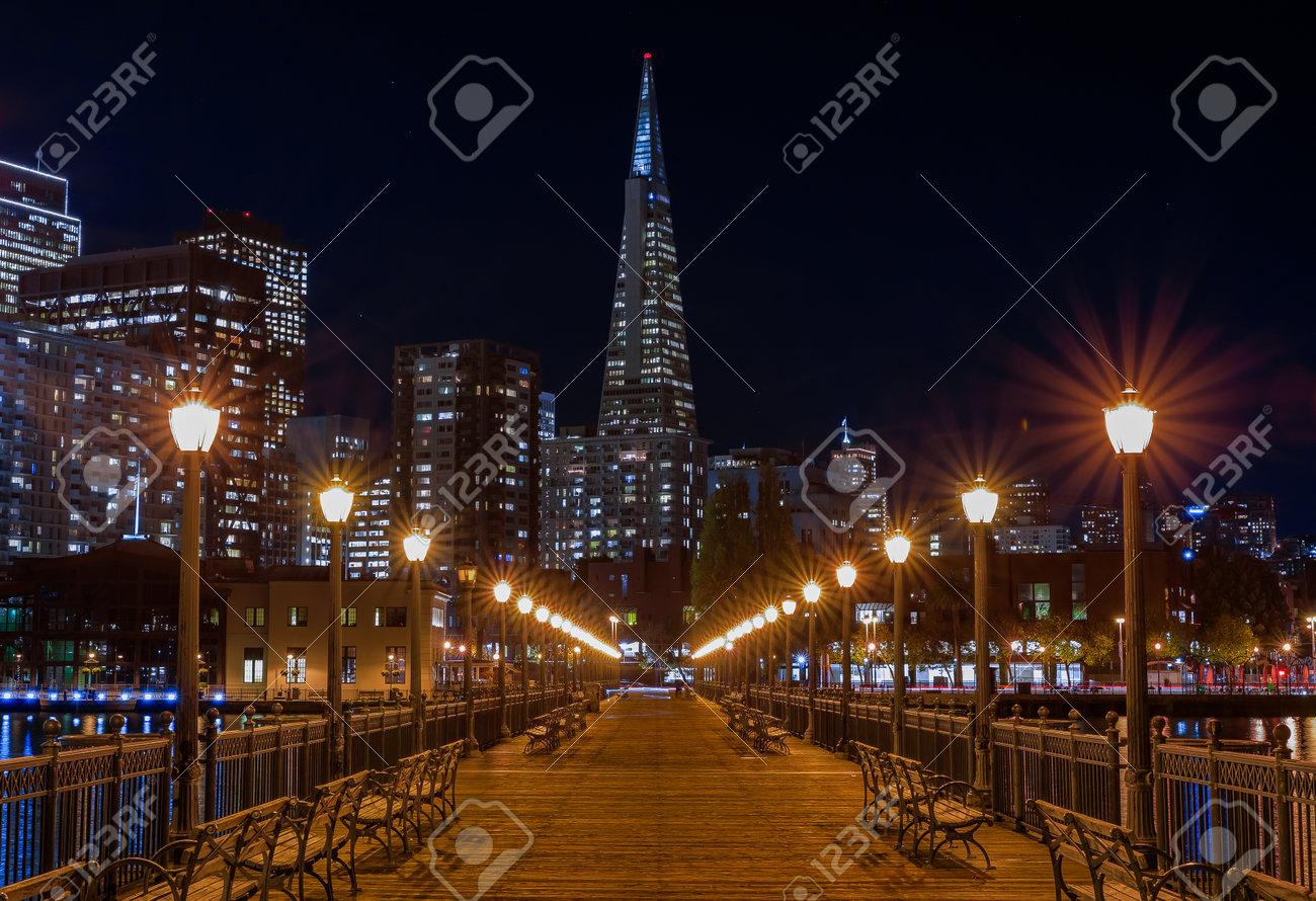 San Francisco, USA - 27. November 2017: Szenische Ansicht Der ...