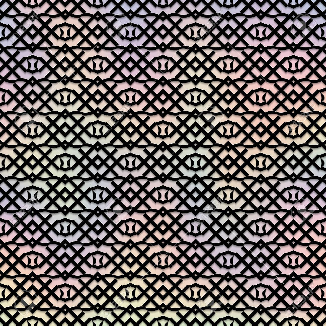 Retro Backdrop Multi Color Design Vintage Graphic Abstract Pattern