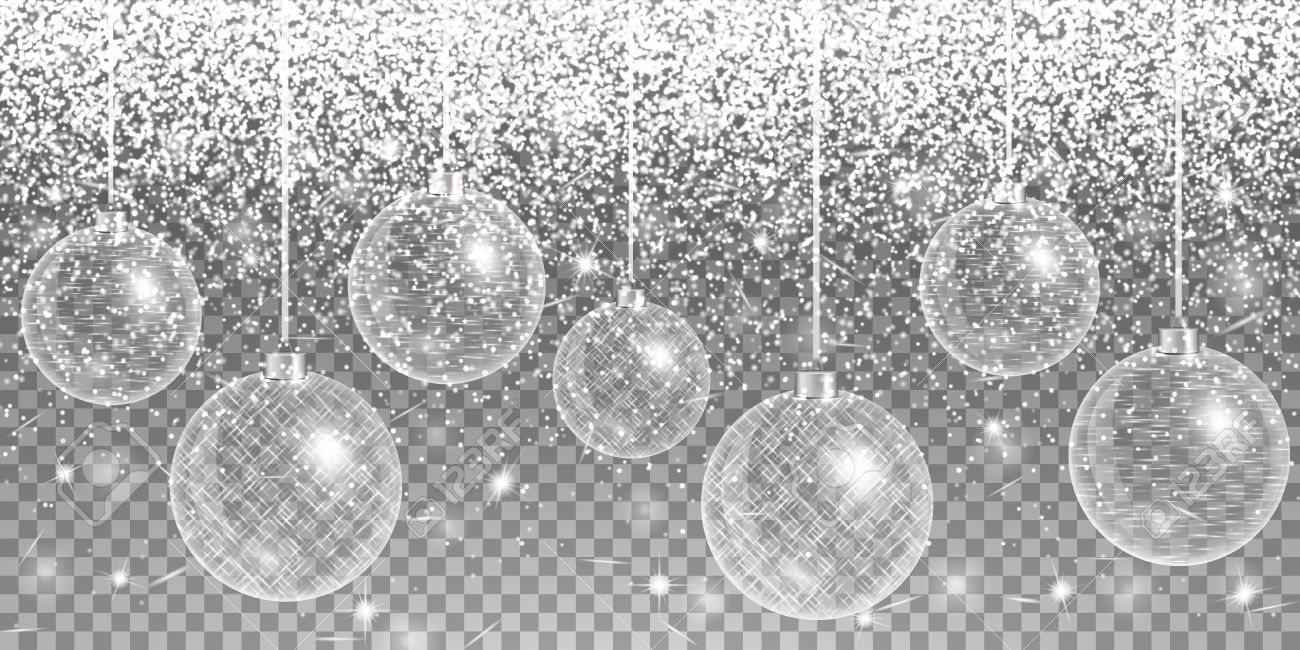 christmas decoration silver new year 2017 abstract light sparkle background winter wonderland
