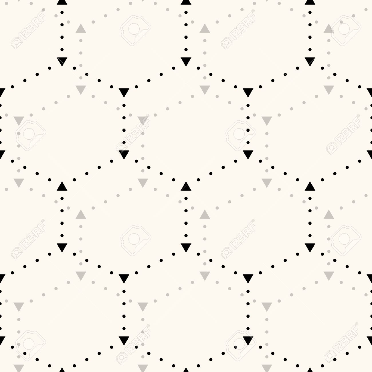 Wallpapers pattern fills web page backgrounds surface textures - Seamless Hexagon Pattern Can Be Used For Wallpaper Pattern Fills Web Page Background