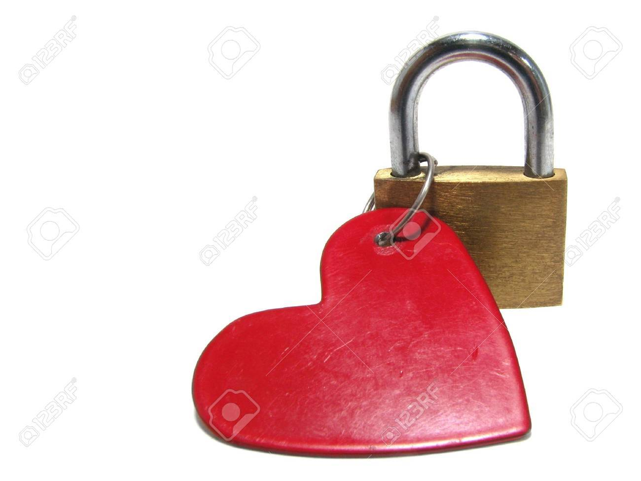 The closed heart Stock Photo - 2327895