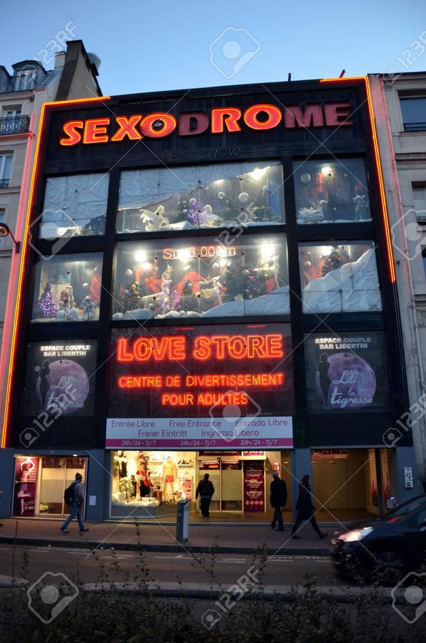 Sex shop paris