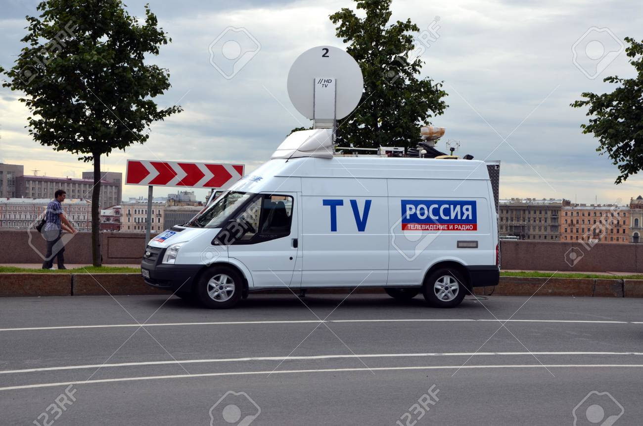 Official car of All-Russia State Television and Radio Broadcasting